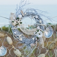 Beach Wedding Wreath