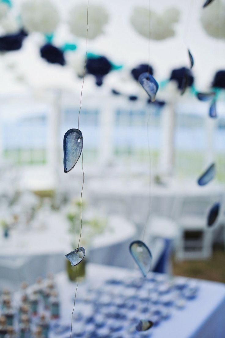 Hanging Beach Wedding Decor