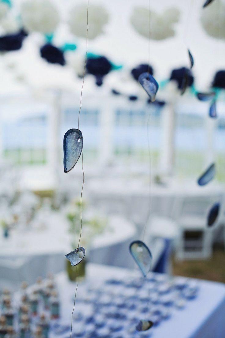 Hanging Beach Wedding Decor