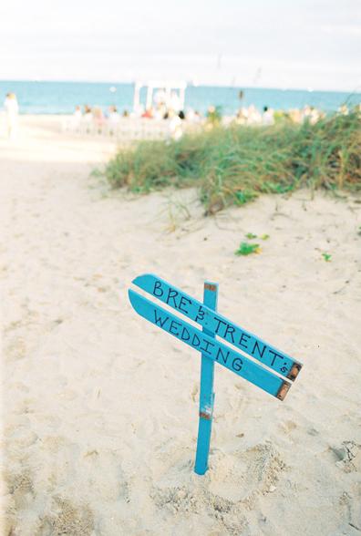 Surfboard Wedding Sign