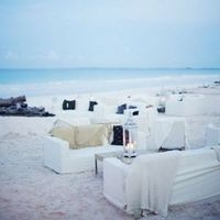 White Beach Wedding Lounge