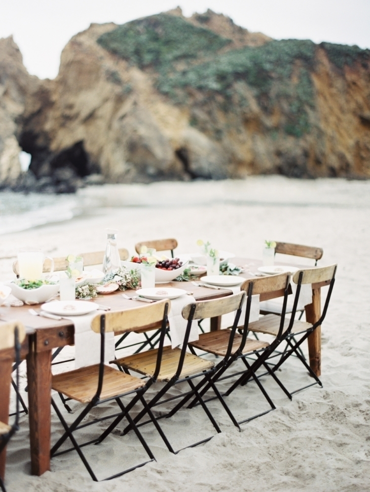 Beach Reception Table