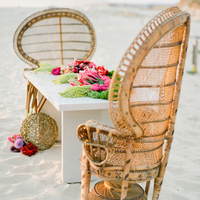 Boho Beach Table Setting