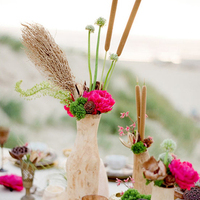 Boho Chic Beach Centerpiece