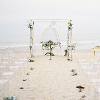 Elegant Beach Ceremony