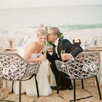 Boho Beach Sweetheart Table