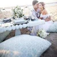 Intimate Beach Wedding Decor