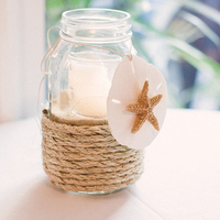 Starfish Mason Jar