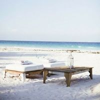 Relaxed Beach Lounge