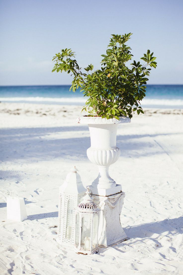 Beach Wedding Greenery