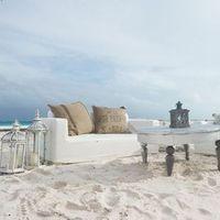 Vintage Beach Lounge Decor