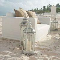 Beach Wedding Lounge Area