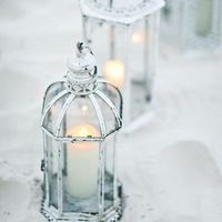 Vintage Beach Lanterns