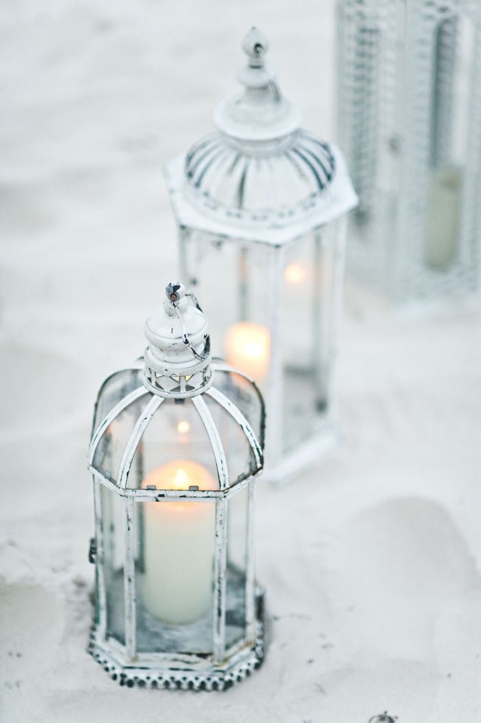 Vintage Beach Lanterns