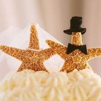 Starfish Cake Toppers