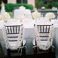 White Chair Leis