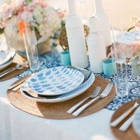 Gorgeous Beach Wedding Table
