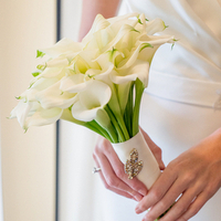 Bouquet with a Brooch