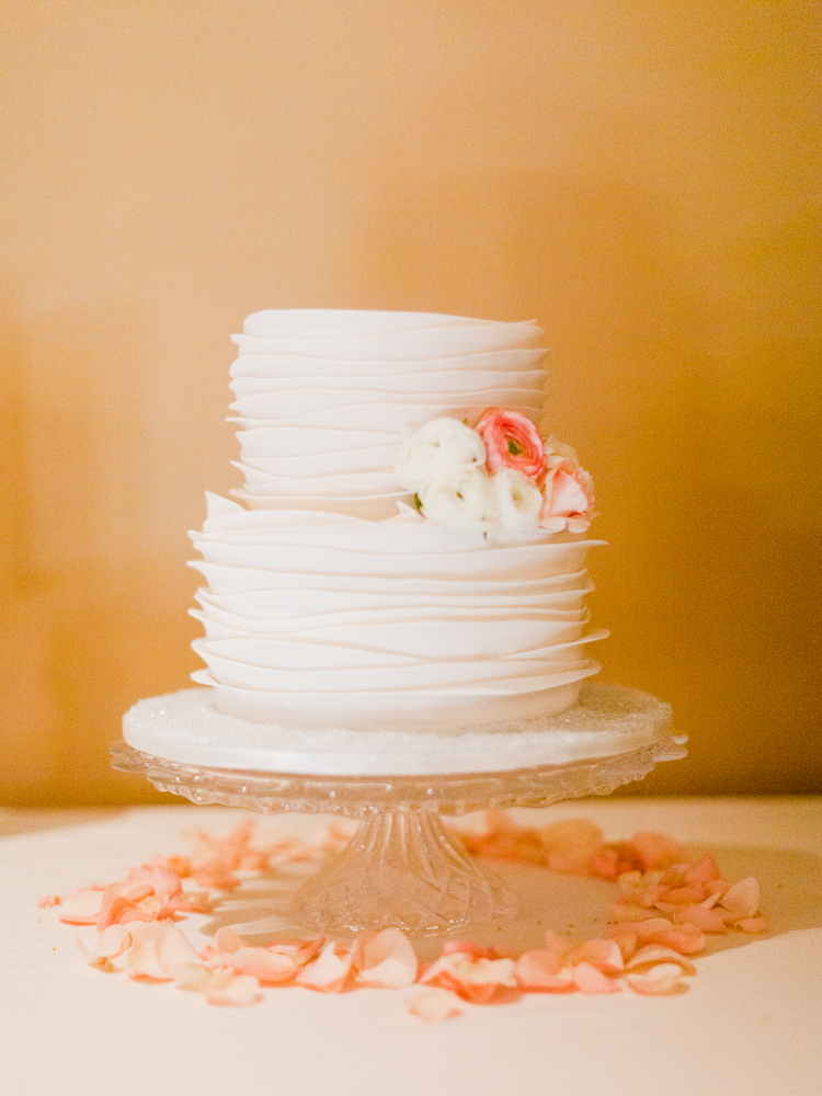 Mini Floral Wedding Cakes