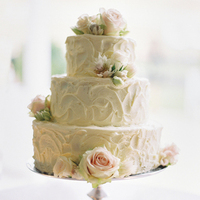 Buttercream Floral Wedding Cakes
