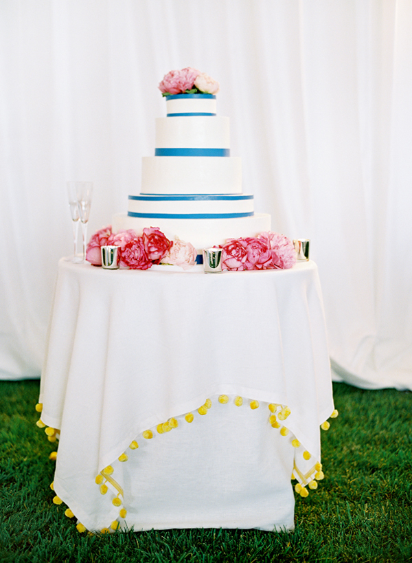 Modern Floral Wedding Cakes