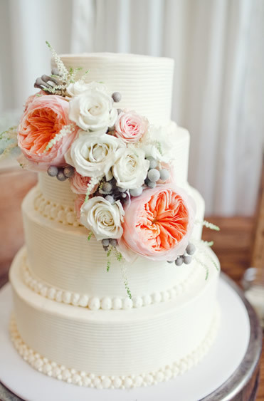 Spring Floral Wedding Cakes