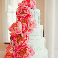 Bright Floral Wedding Cakes