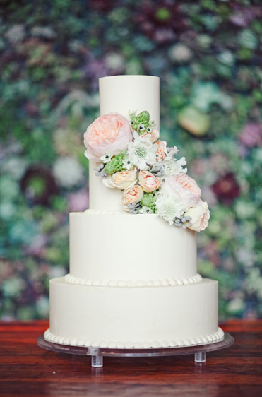 Pastel Floral Wedding Cakes