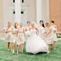 Classic Spring Bridesmaids