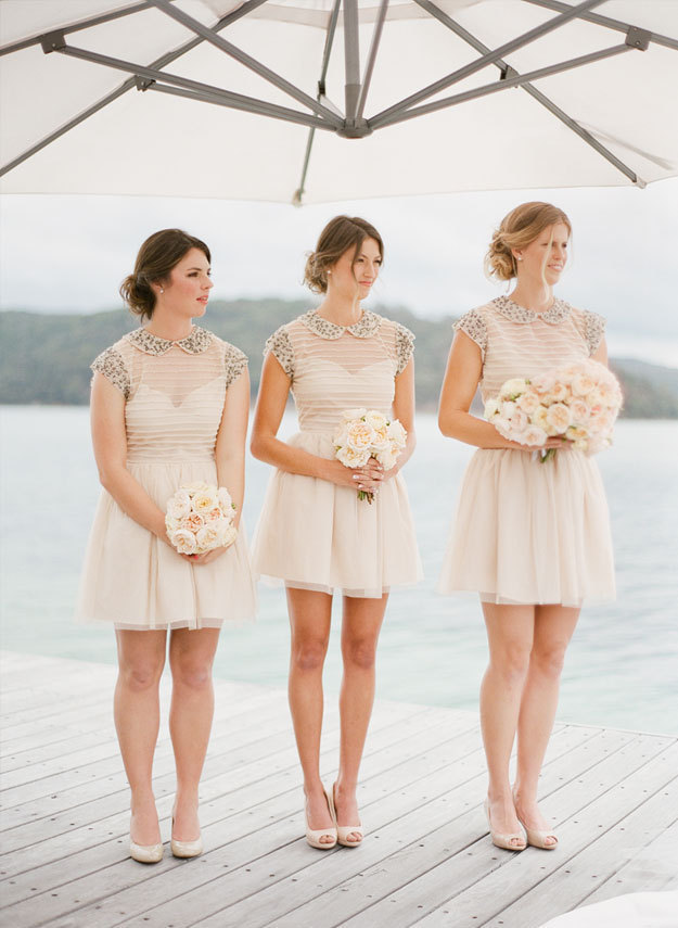 Unique Bridesmaids Dresses