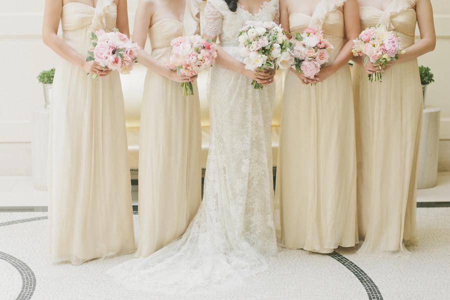 Classic Bridesmaids Dresses