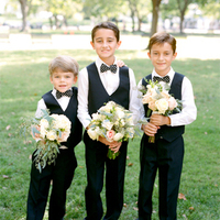 Black Tie Ring Bearers