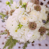 White Bride's Bouquet