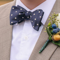 Preppy Polka Dot Bow Tie