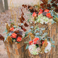 Fall Altar Arrangements