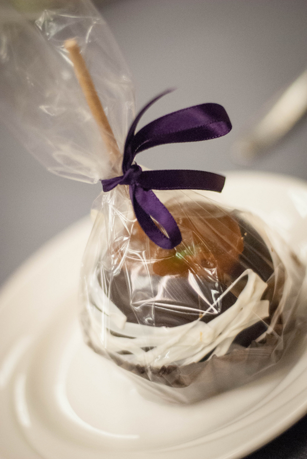 Candied Apple Wedding Favor