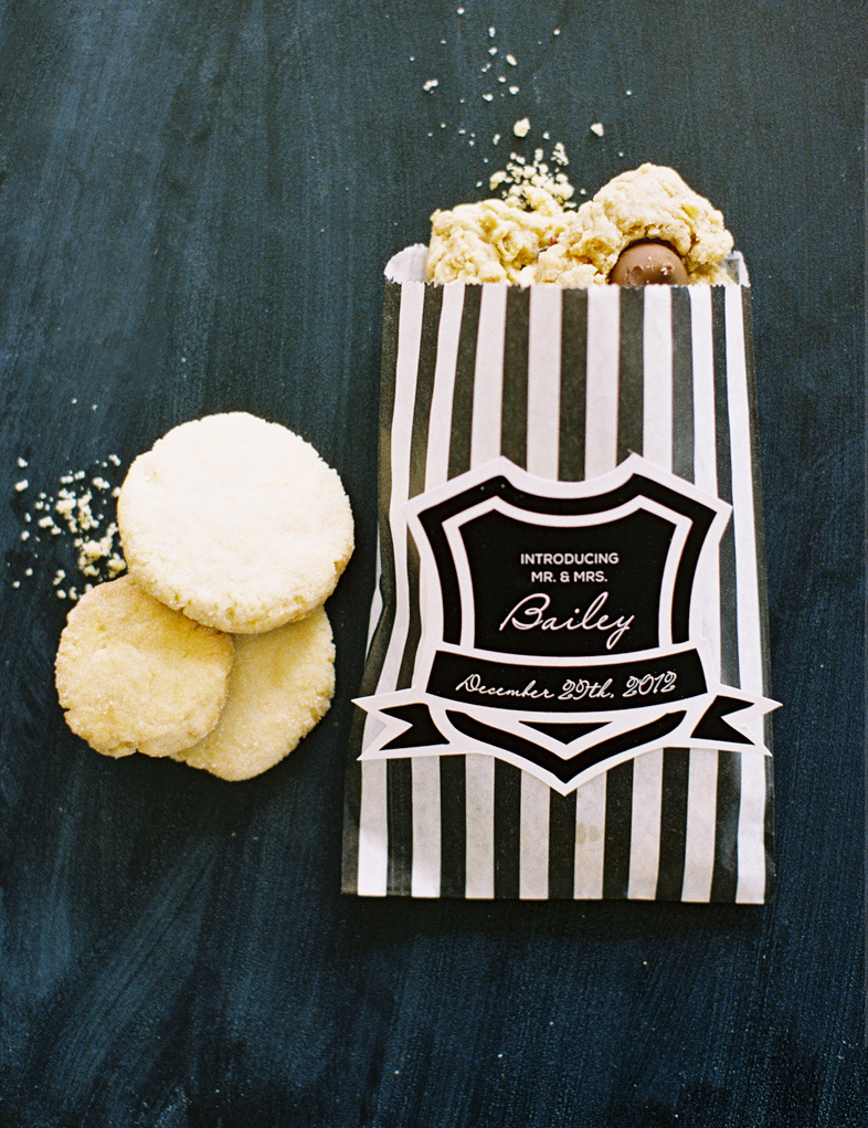 Cookie Bag Wedding Favors