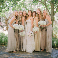 Glam Sequin Bridesmaids