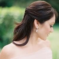 Two-Stone Drop Earrings