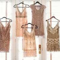 Gatsby Glam Bridesmaids Dresses