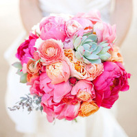 Bright Pink Beach Bouquet