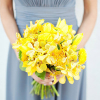 Bright Yellow Beach Bouquet