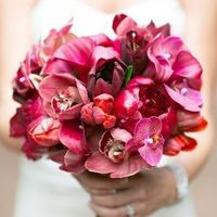 Glam Pink Beach Bouquet