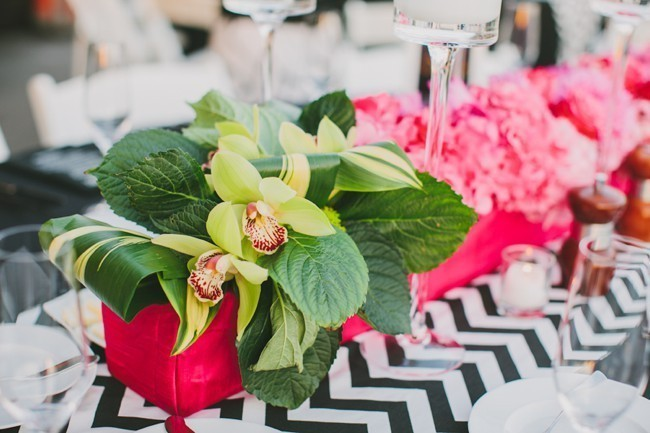 Modern Beach Centerpieces