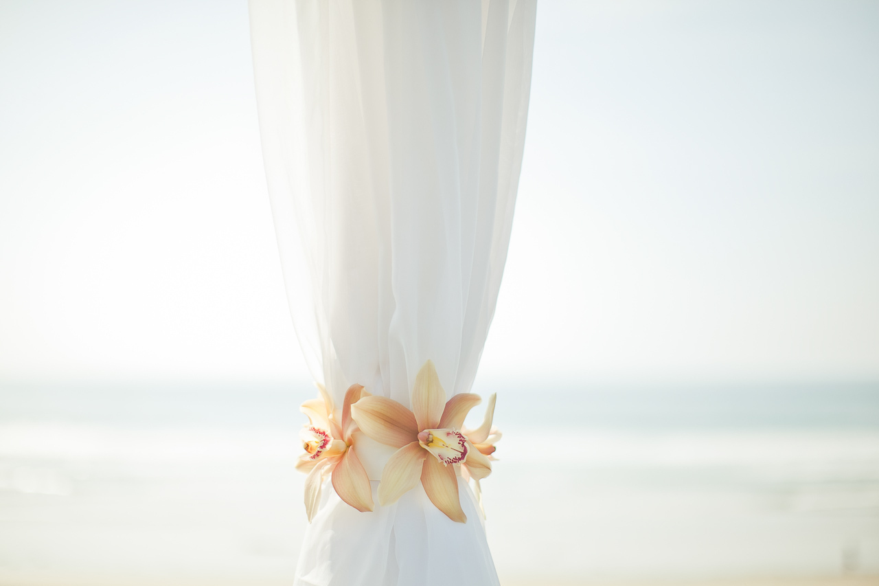 Beach Ceremony Flowers