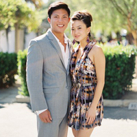 Patterned Wedding Guest Dresses