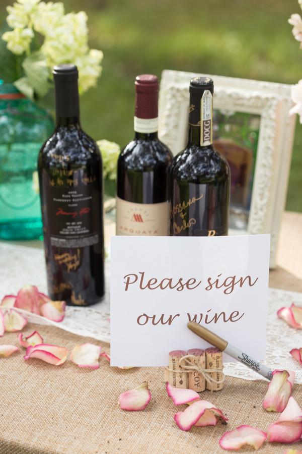 Wine Guest Book