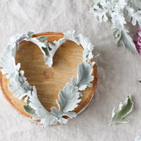 DIY: Dusty Miller Wire Heart