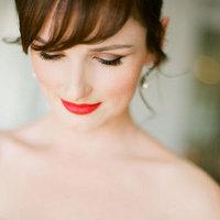 Orangey Lipstick