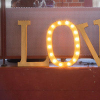 etsy love sign marquee